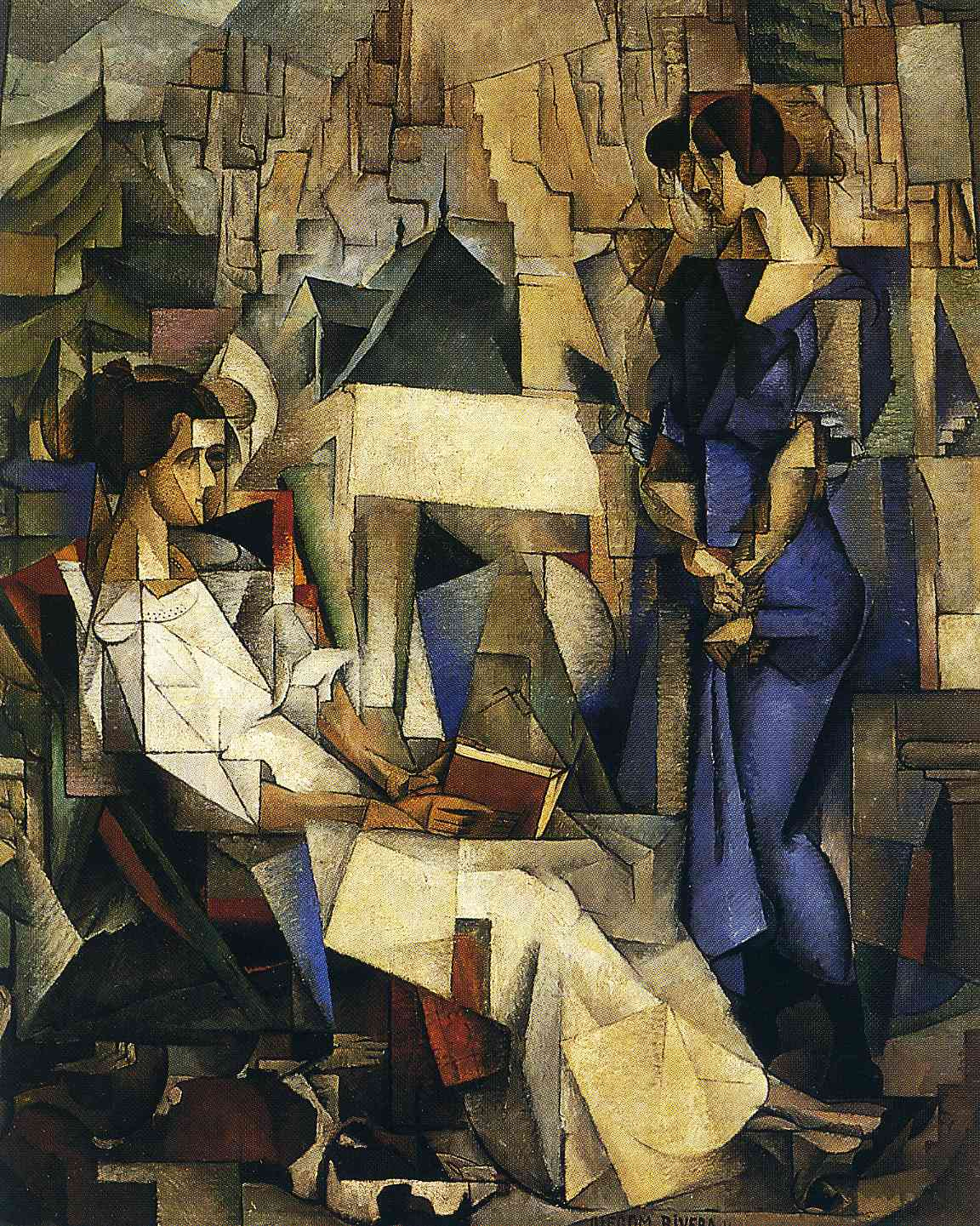 Portrait of Two Women, 1914