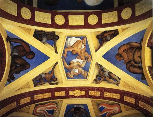 Revelation of the Way - Diego Rivera