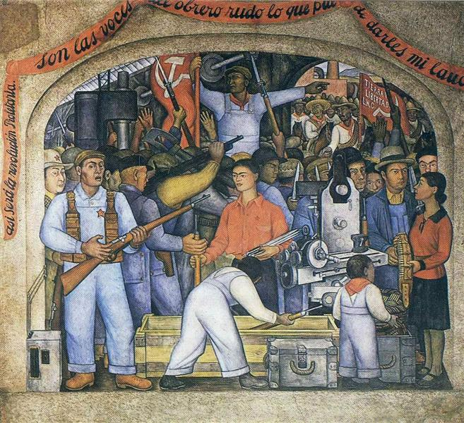 The Arsenal, 1928 - Diego Rivera