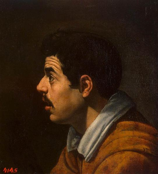 Head of a Man - Diego Velazquez