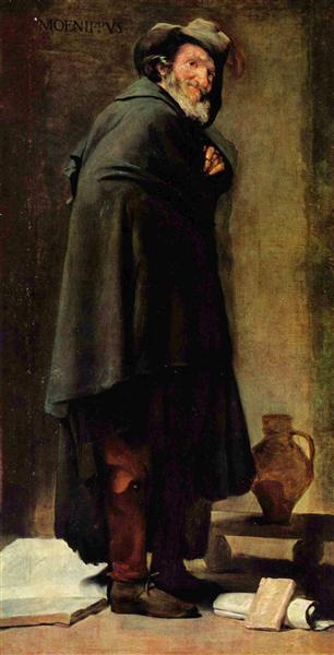 Menippos, 1639 - 1641 - Diego Velazquez