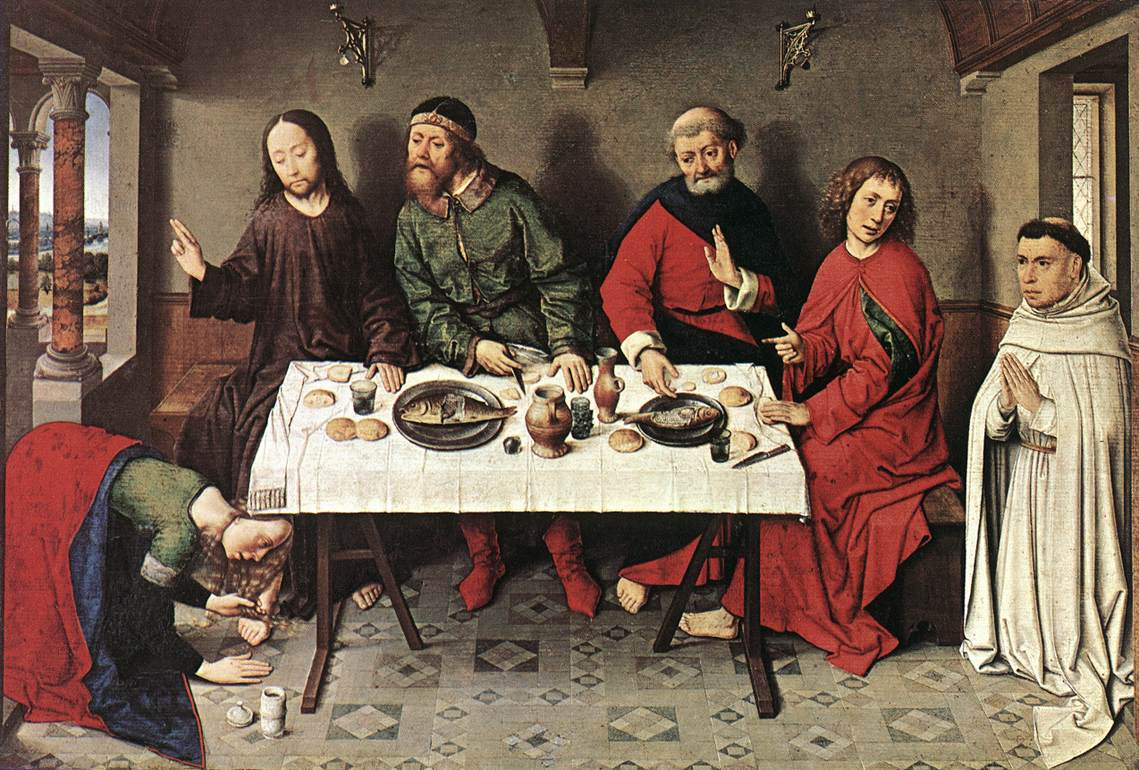 Christ in the House of Simon, 1445