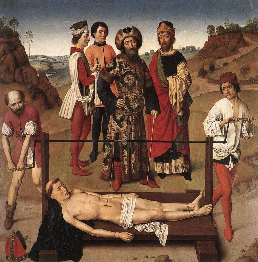 Martyrdom of St. Erasmus (central panel), 1458