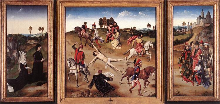 St. Hippolytus Triptych, 1470 - 1475 - Dirk Bouts