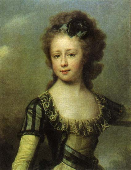 Maria Pavlovna, c.1795 - Dmitry Levitzky