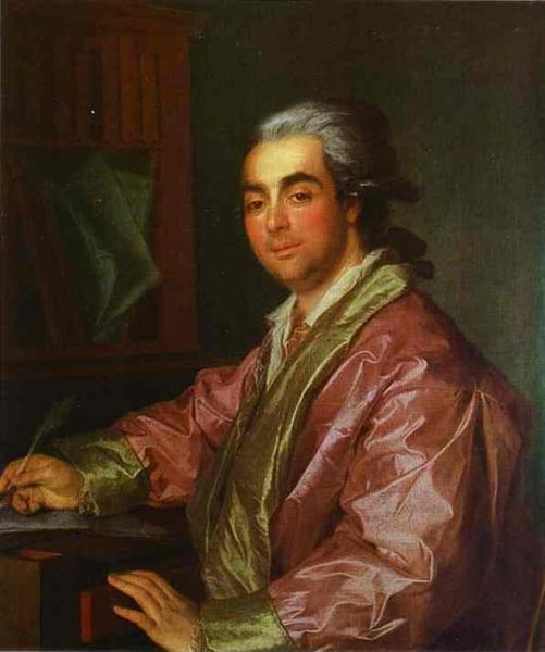 Portrait of an Unknown Man, 1781 - Dmitry Levitzky