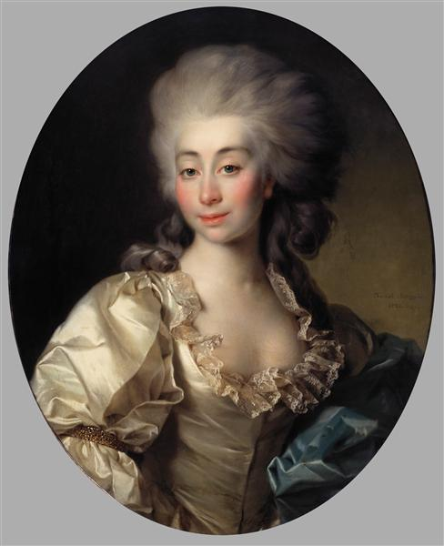 Portrait of Countess Ursula Mniszek, 1782 - Dmitry Levitzky