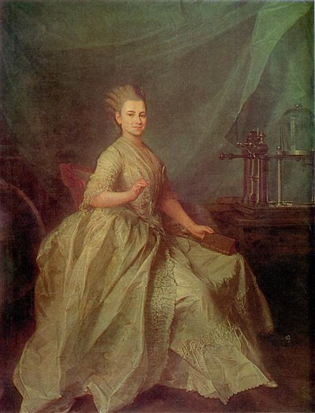 Portrait of E. I. Molchanova, 1776 - Dmitry Levitsky