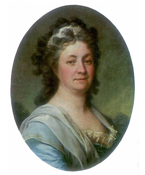 Portrait of M. I. Mussar, c.1785 - Dmitry Levitzky