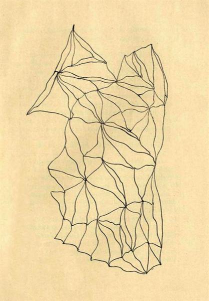 Entopic Graphomania, 1945 - Dolfi Trost