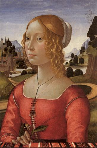 Portrait of a Lady - Domenico Ghirlandaio