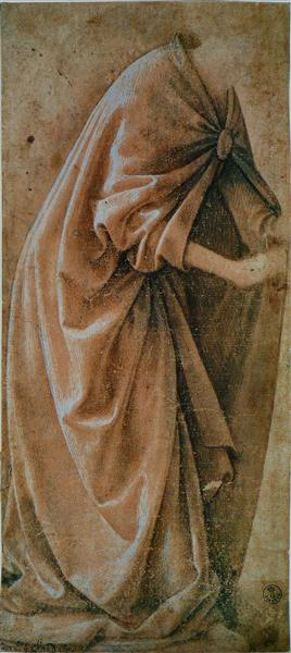 Study of Garments, c.1491 - Domenico Ghirlandaio