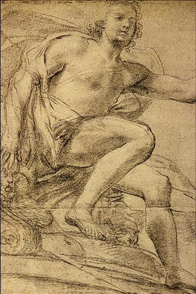 Study of Apollo - Domenico Veneziano