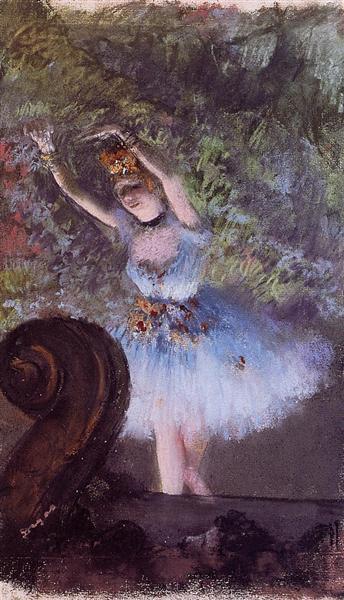 Dancer, c.1877 - c.1878 - Edgar Degas