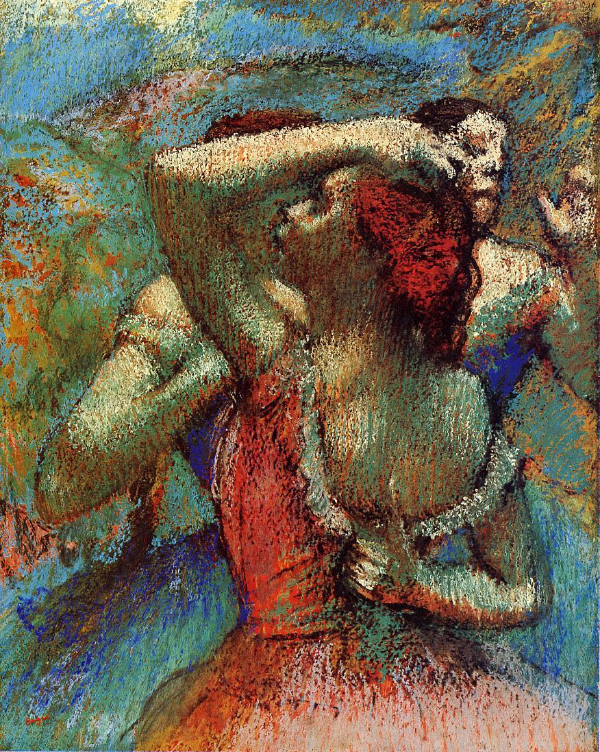 Dancer Impressionist Reproduction Oil Paintings