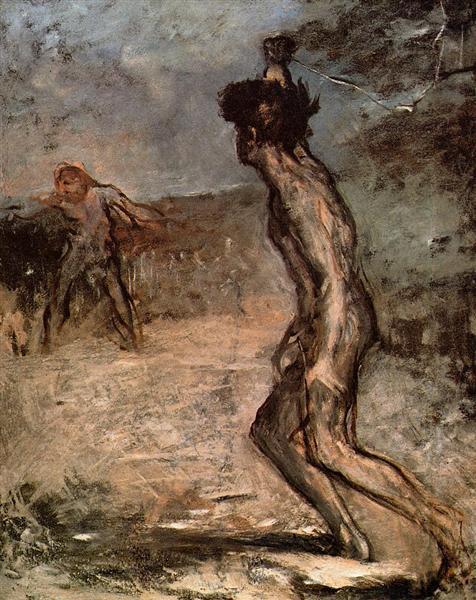 David and Goliath, c.1863 - Edgar Degas