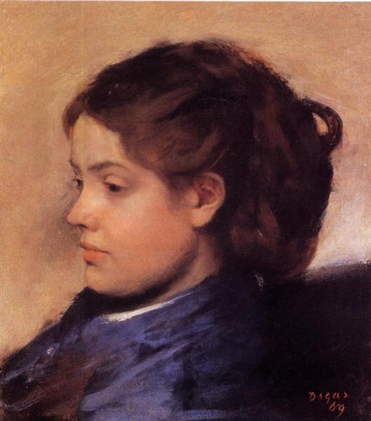 Emma Dobigny, 1869 - Edgar Degas