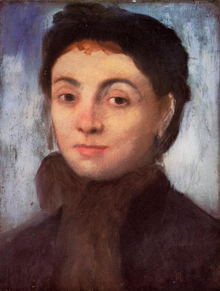 Portrait of Josephine Gaujelin - Degas Edgar
