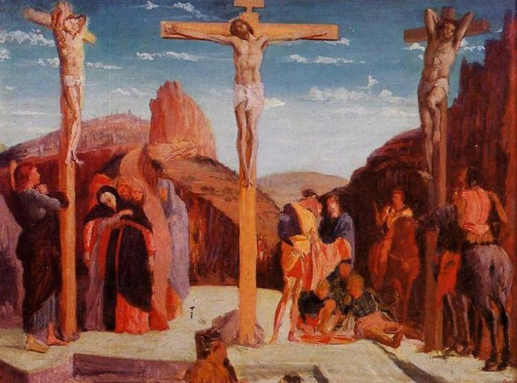 The Crucifixion (after Mantegna), 1861 - Edgar Degas