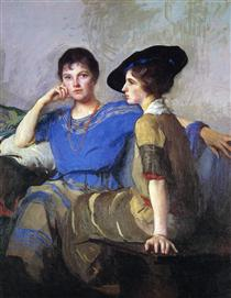 The Sisters - Edmund Charles Tarbell