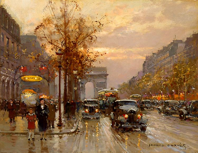 Champs-Élysées - Edouard Cortes