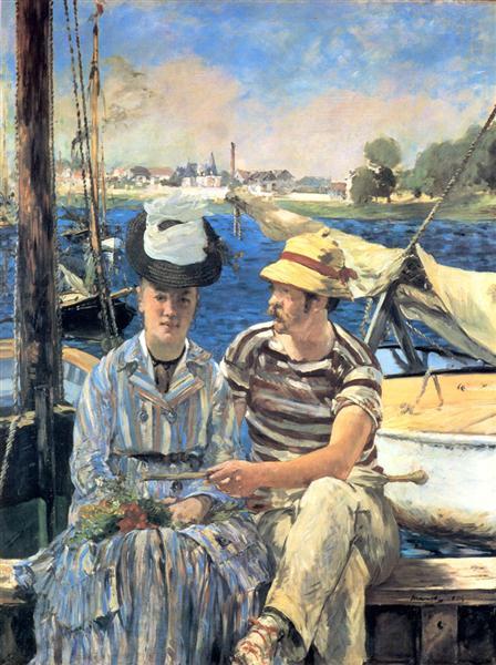 Argenteuil - Edouard Manet
