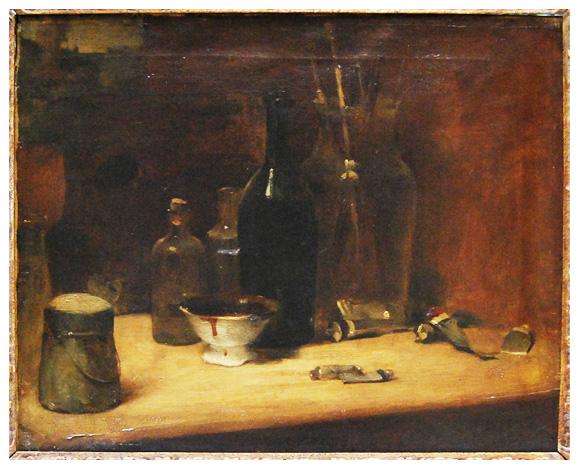 Artist's atelier - Edouard Manet
