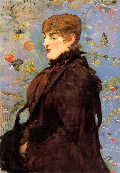 Autumn (Study of Mery Laurent), 1882 - Edouard Manet