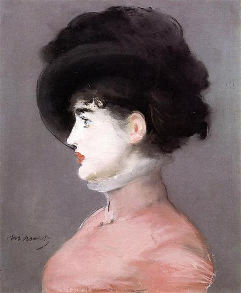 Portrait of Irma Brunner, c.1880 - Edouard Manet