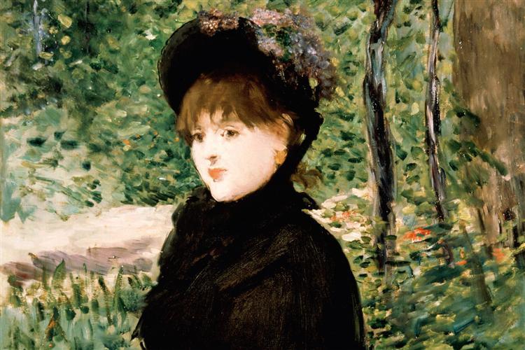 The stroll, 1880 - Edouard Manet