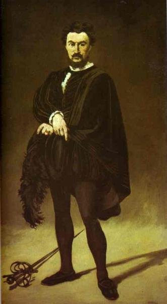 The Tragedian Actor, 1866 - Edouard Manet