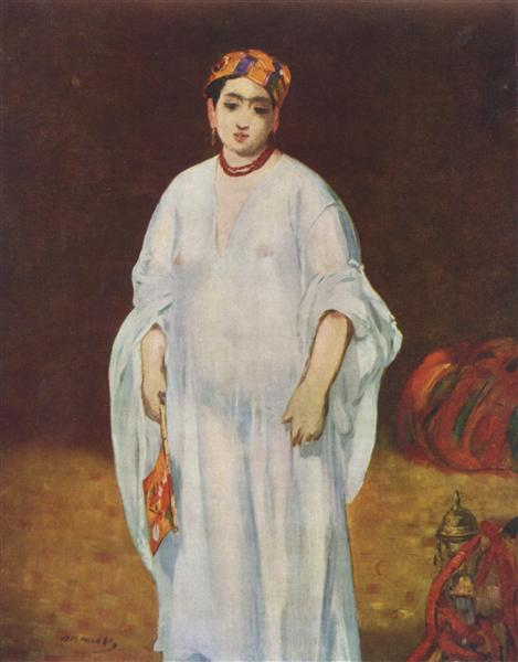 Young Woman in Oriental Garb, 1871 - Edouard Manet