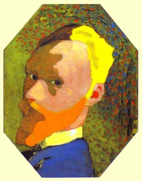 Self-Portrait, 1891 - Edouard Vuillard