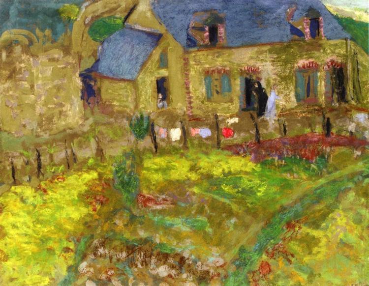 Breton House, 1909 - Edouard Vuillard