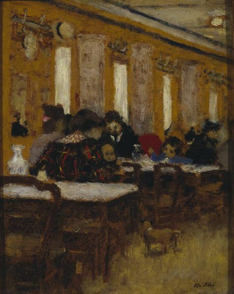 The Little Restaurant, 1894 - Едуар Вюйар