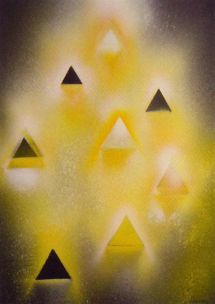 Desmaterialização III, 1991 - Eduardo Nery