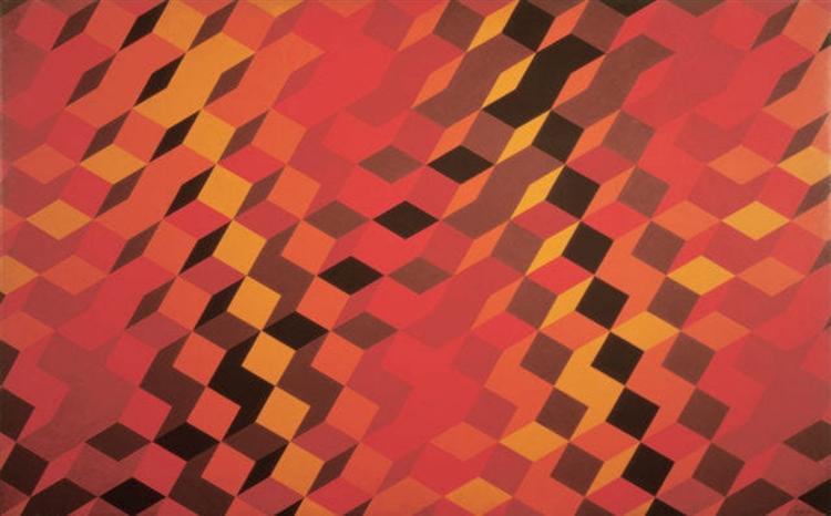 Estrutura Ambígua IV, 1969 - Eduardo Nery