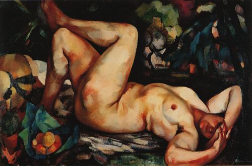 Nu, 1925 - Eduardo Afonso Viana