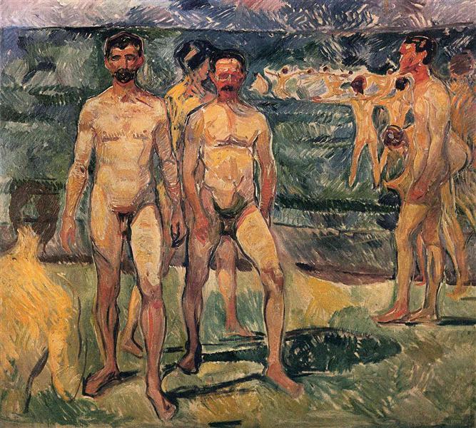 Bathing Men, 1907 - Edvard Munch