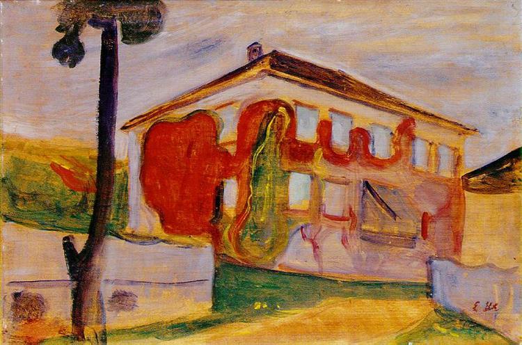 Red Creeper, 1900 - Edvard Munch