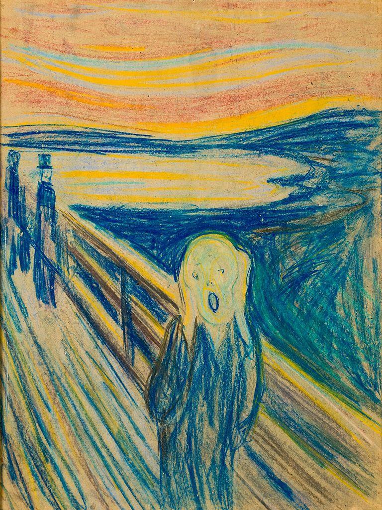 The Scream - Edvard Munch - WikiArt.org - encyclopedia of ...