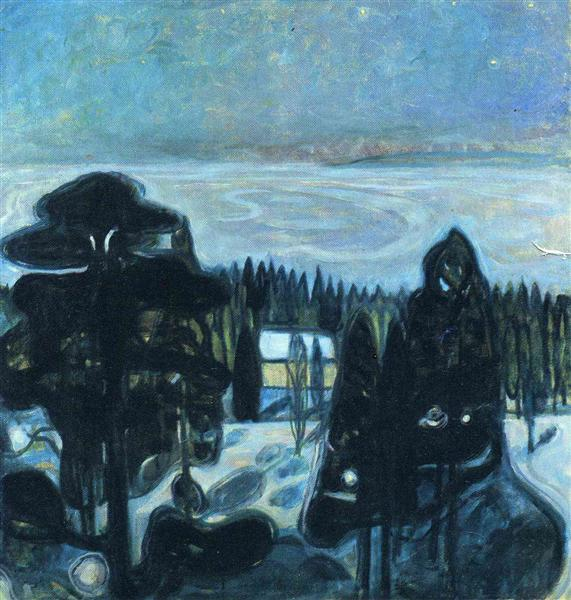 White Night, 1901 - Edvard Munch
