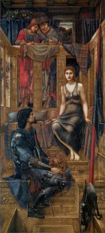 King Cophetua and the Beggar Maid - Edward Burne-Jones
