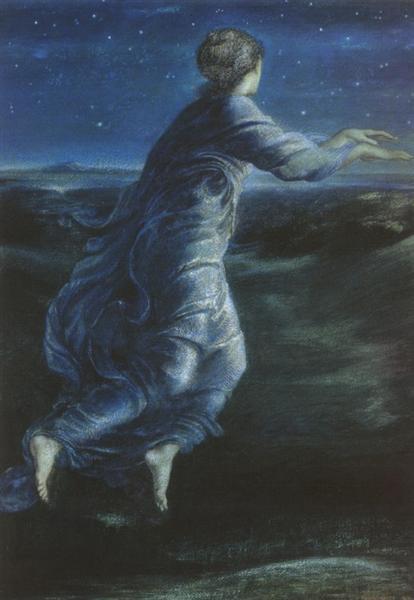 Night, 1870 - Edward Burne-Jones