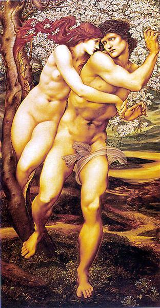 Tree Of Forgiveness - Edward Burne-Jones