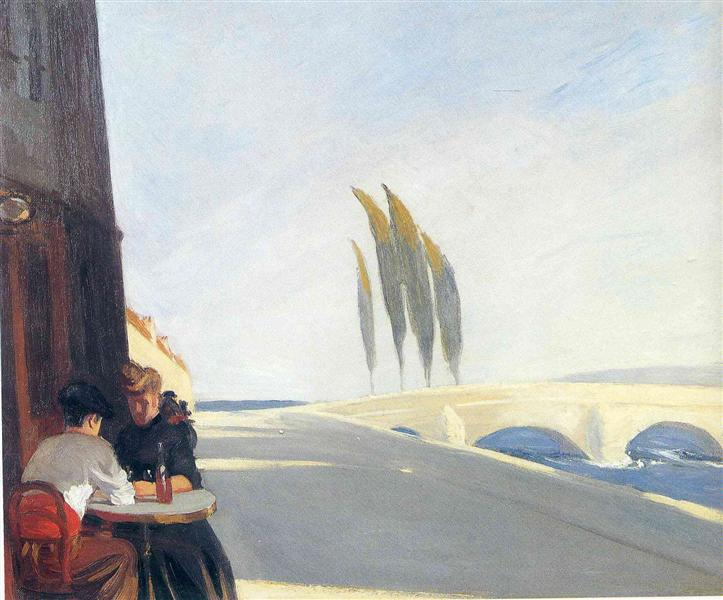 Bistro, 1909 - Edward Hopper