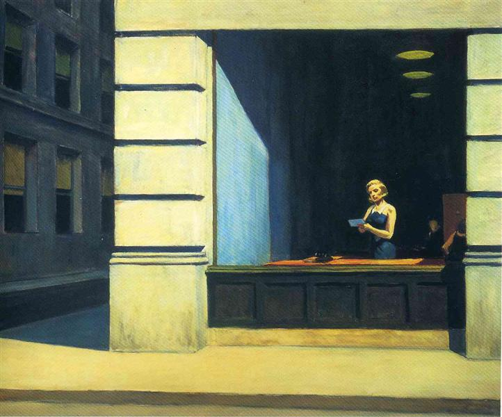 New York Office, 1962 - Edward Hopper