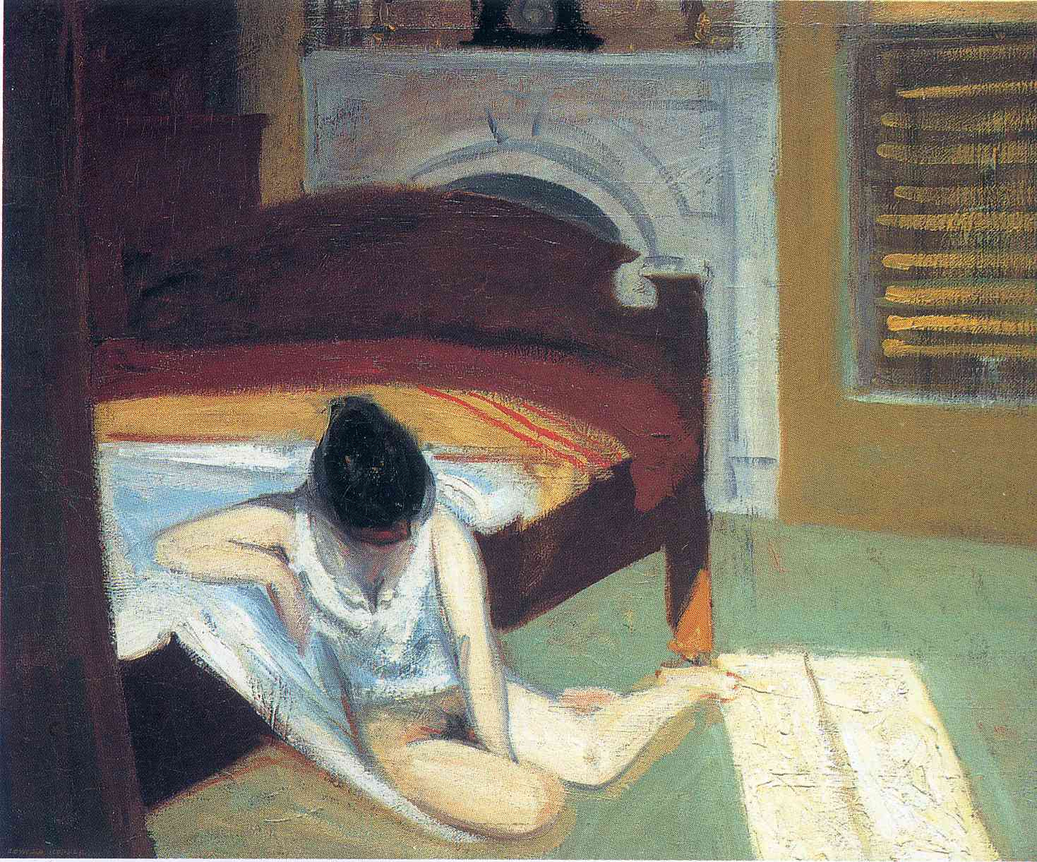 Image result for Summer Interior by Edward Hopper