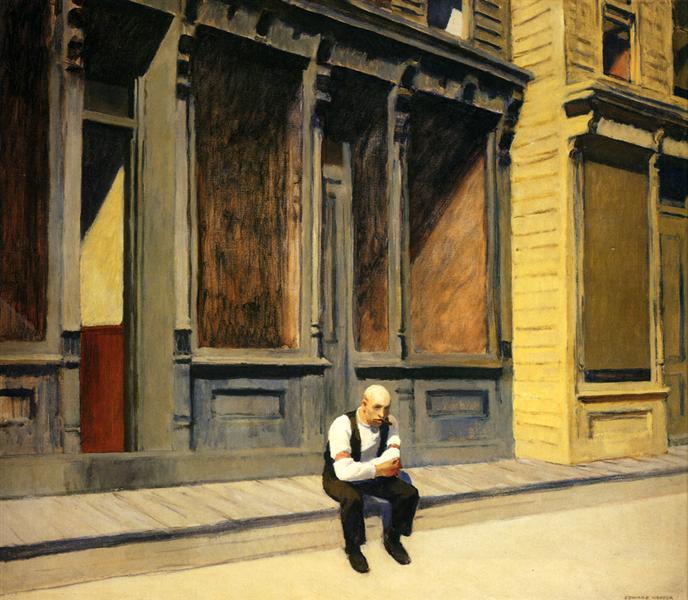 Sunday, 1926 - Edward Hopper