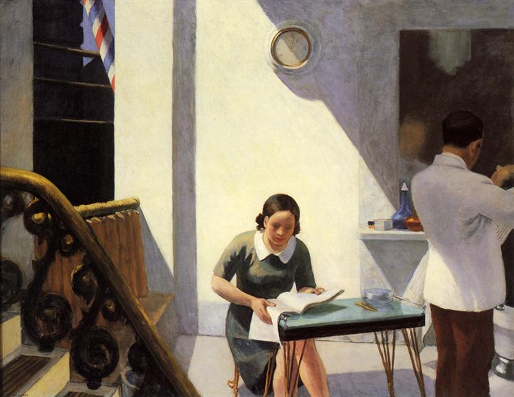 The Barber Shop, 1931 - Edward Hopper